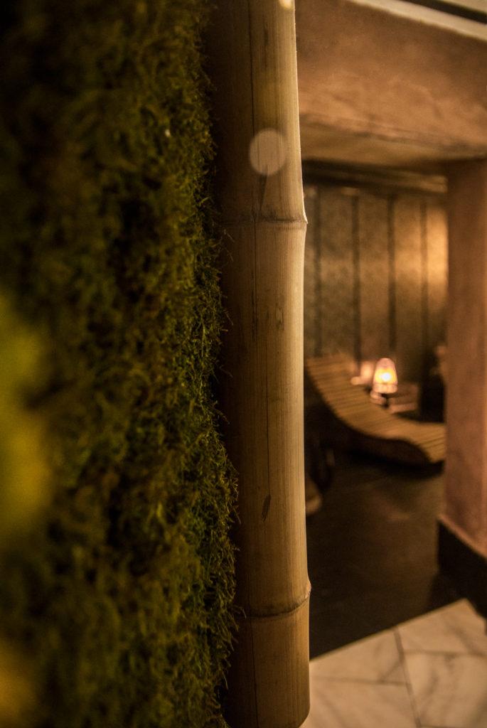 El bambú es uno de los materiales tradicionalmente más utilizados en la construcción de los onsen en Japón © Las Recreativas