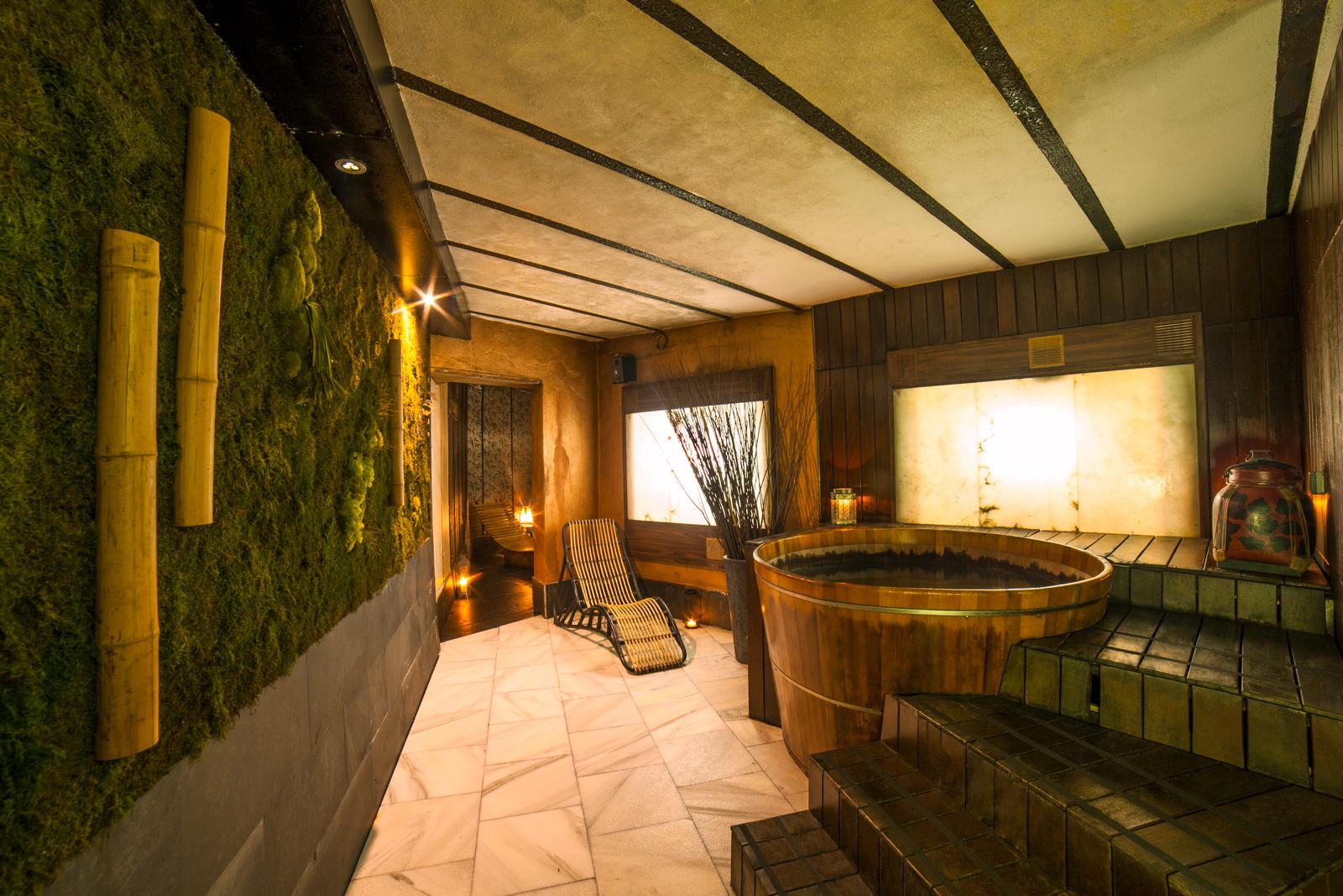 Parte de nuestro onsen, ¡ven a disfrutarlo! © Las Recreativas