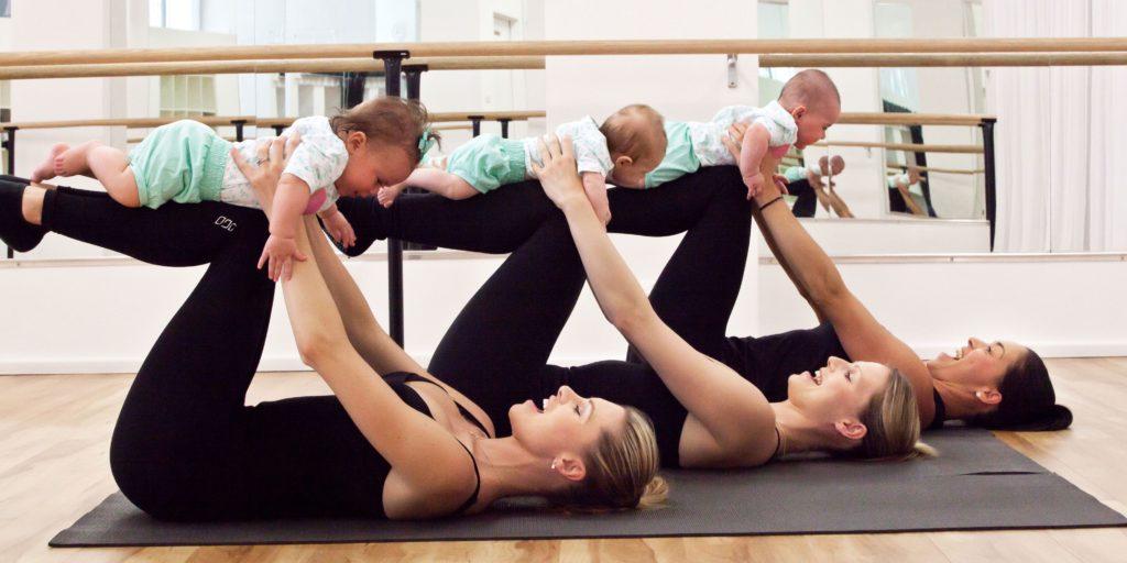 El Pilates es un ejercicio perfecto para mamás y embarazadas.