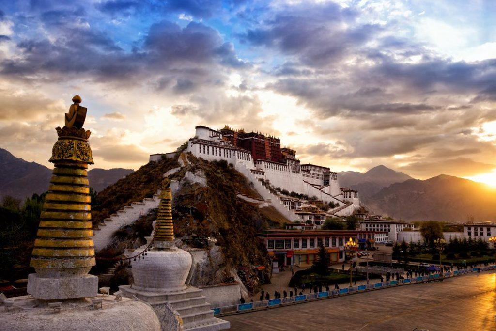 Templo Potala, Tíbet.