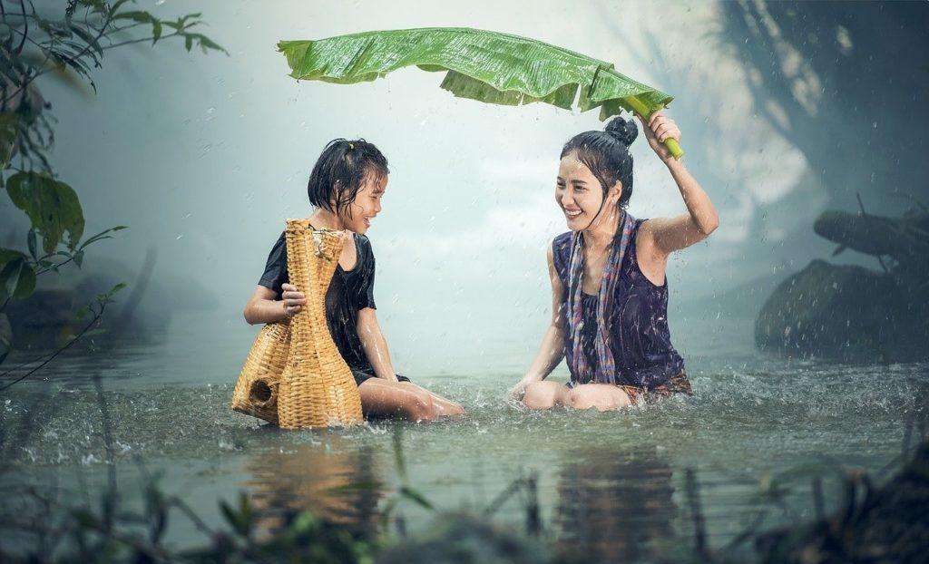 La lluvia mejora nuestro estado de ánimo